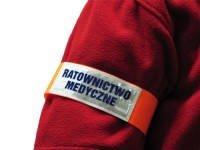 Opaska na ramie ratownictwo medyczne